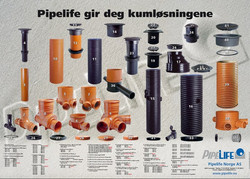 Pipelife Norge AS-plakat
