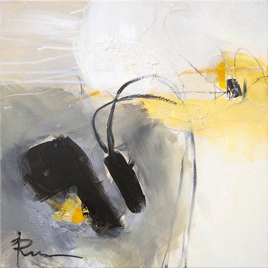 «Untitled-16»-akryl på lerret 50x50cm