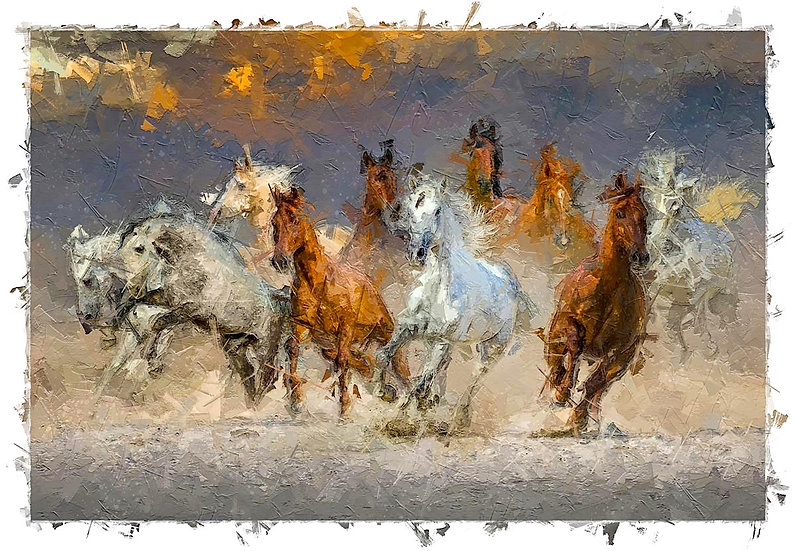«Horses» – price from