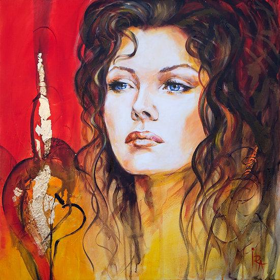 «Michelle Pfeiffer» – kunsttrykk - giclée