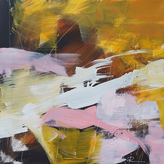 «Untitled-82»-akryl på lerret 50x50cm