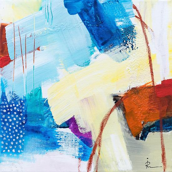 «Untitled-307»-akryl på lerret 30x30cm