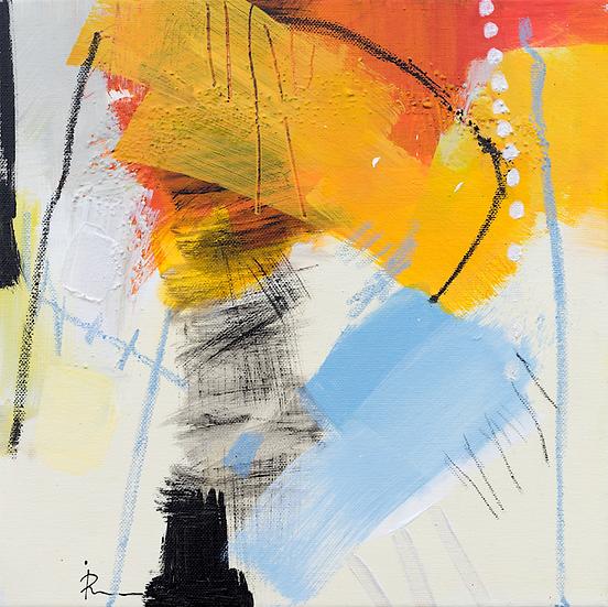 «Untitled-306»-akryl på lerret 30x30cm