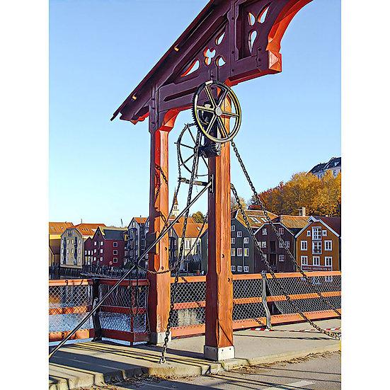 Lykkens portal - Den gamle Bybro- Trondheim, NORWAY