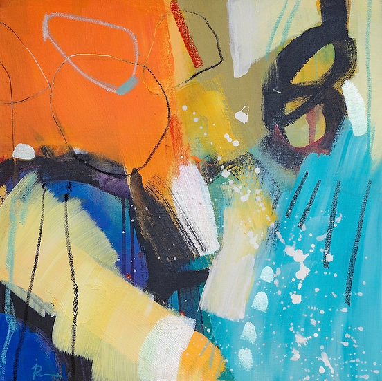 «Untitled-69»-akryl på lerret 50x50cm