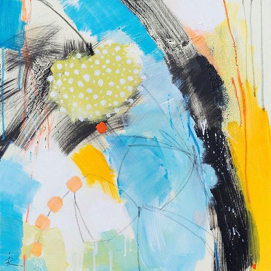 «Untitled-59»-akryl på lerret 50x50cm
