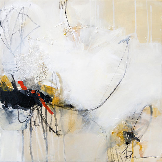 «Untitled-18»-akryl på lerret 50x50cm