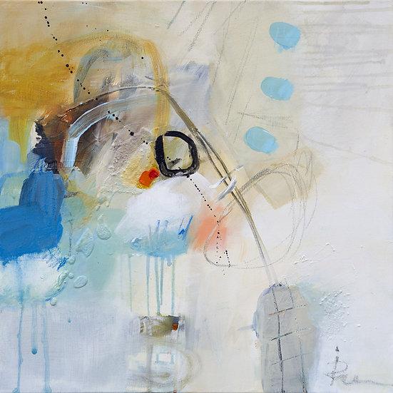 «Untitled-27»-akryl på lerret 50x50cm