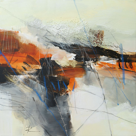 «Untitled-76»-akryl på lerret 50x50cm