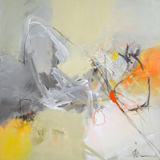 «Untitled-19»-akryl på lerret 50x50cm