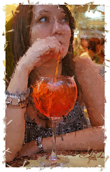 «Glass of Aperol Spritz» – price from