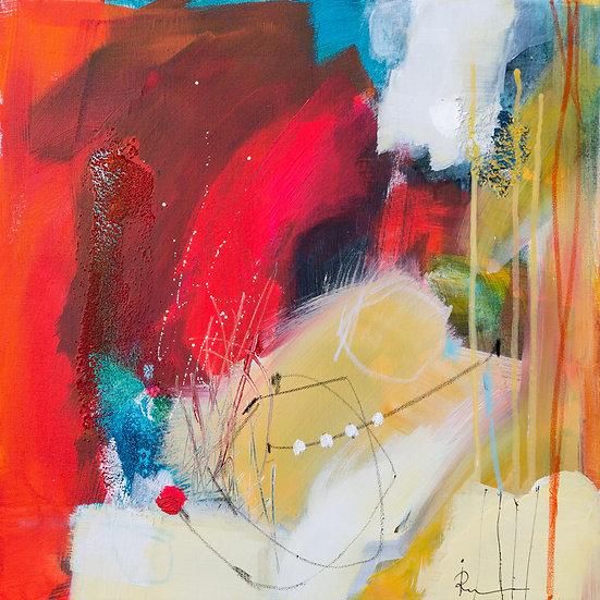 «Untitled-46»-akryl på lerret 50x50cm