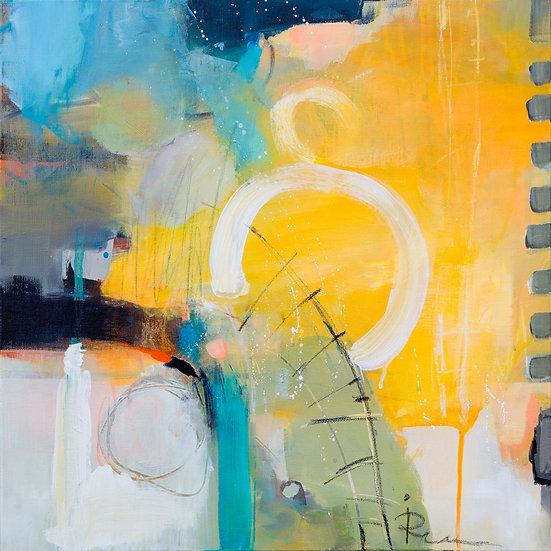 «Untitled-31»-akryl på lerret 50x50cm