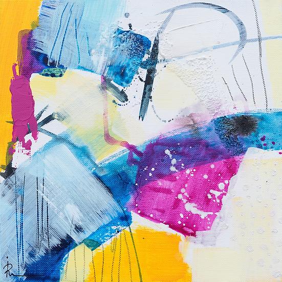 «Untitled-301»-akryl på lerret 30x30cm