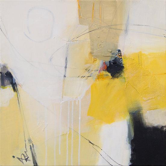 «Untitled-14»-akryl på lerret 50x50cm