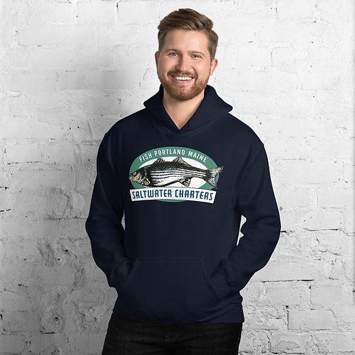 Fish Portland Maine Hoodie