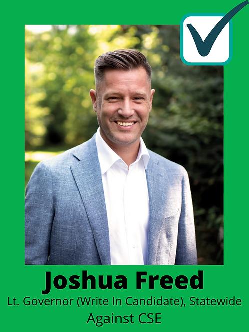 Joshua Freed (Write in Candidate)