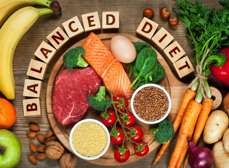 Tips for a well balanced diet during COVID-19