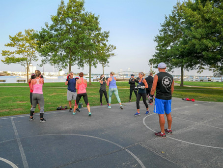Outdoor Classes at Storer Park starting June 7th!