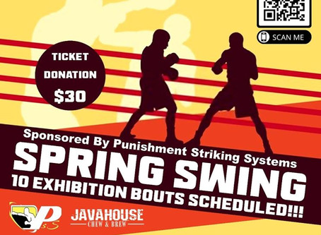 Spring Swing Boxing Event
