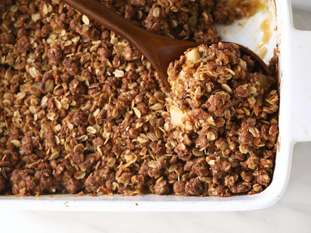 Nutritious Dessert Recipes - Apple Crisp