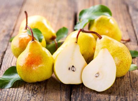 FALL NUTRITION - Pear-fect nutrition