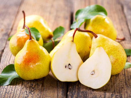 FALL NUTRITION - Pear-fect nutrition