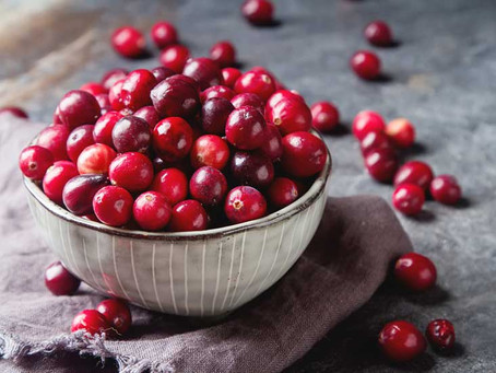 FALL NUTRITION - Cranberries