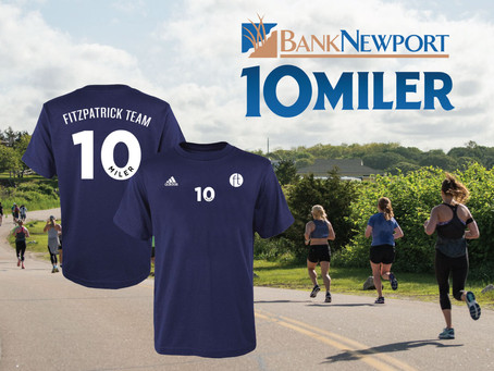 2019 Bank Newport 10 Miler with Fitzpatrick Team