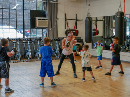 Kids Classes at Newport Boxfit