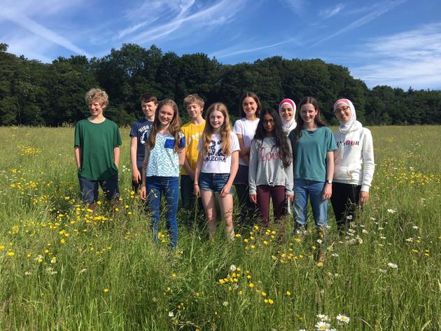young poets at Waddesdon