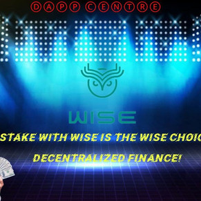 STAKING WITH WISETOKEN.NET IS THE WISE CHOICE! DEFI!