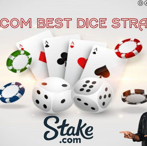 STAKE.COM! BEST BETTING STRATEGIES PLAYING DICE!