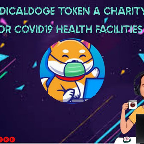MEDICALDOGE TOKEN A CHARITY FOR COVID19 HEALTH FACILITIES!