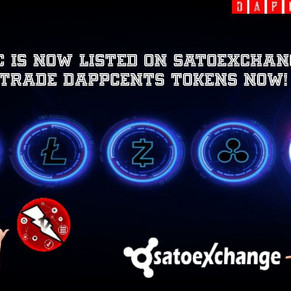 DPC CAN NOW BE TRADED ON SATOEXCHANGE! DAPPCENTS!