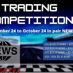 SOUTHXCHANGE NEWS TOKEN TRADING COMPETITION! SEPT 24th - OCT 24th
