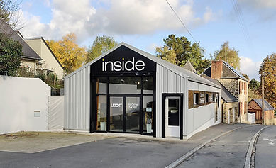 extérieur_magasin_Cuisines_Inside_Leicht_Fougères