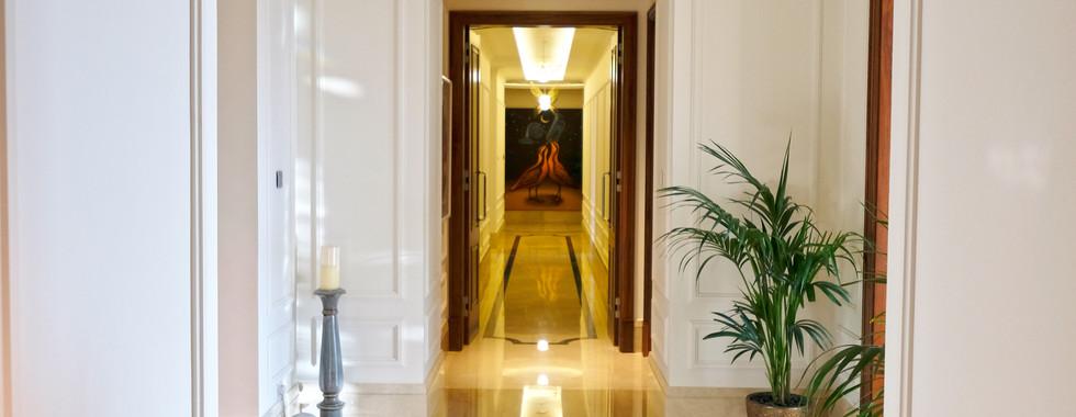 Penthouse hall