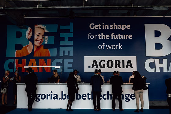 Agoria be the change.jpg