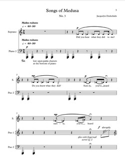 Songs of Medusa, no. 3