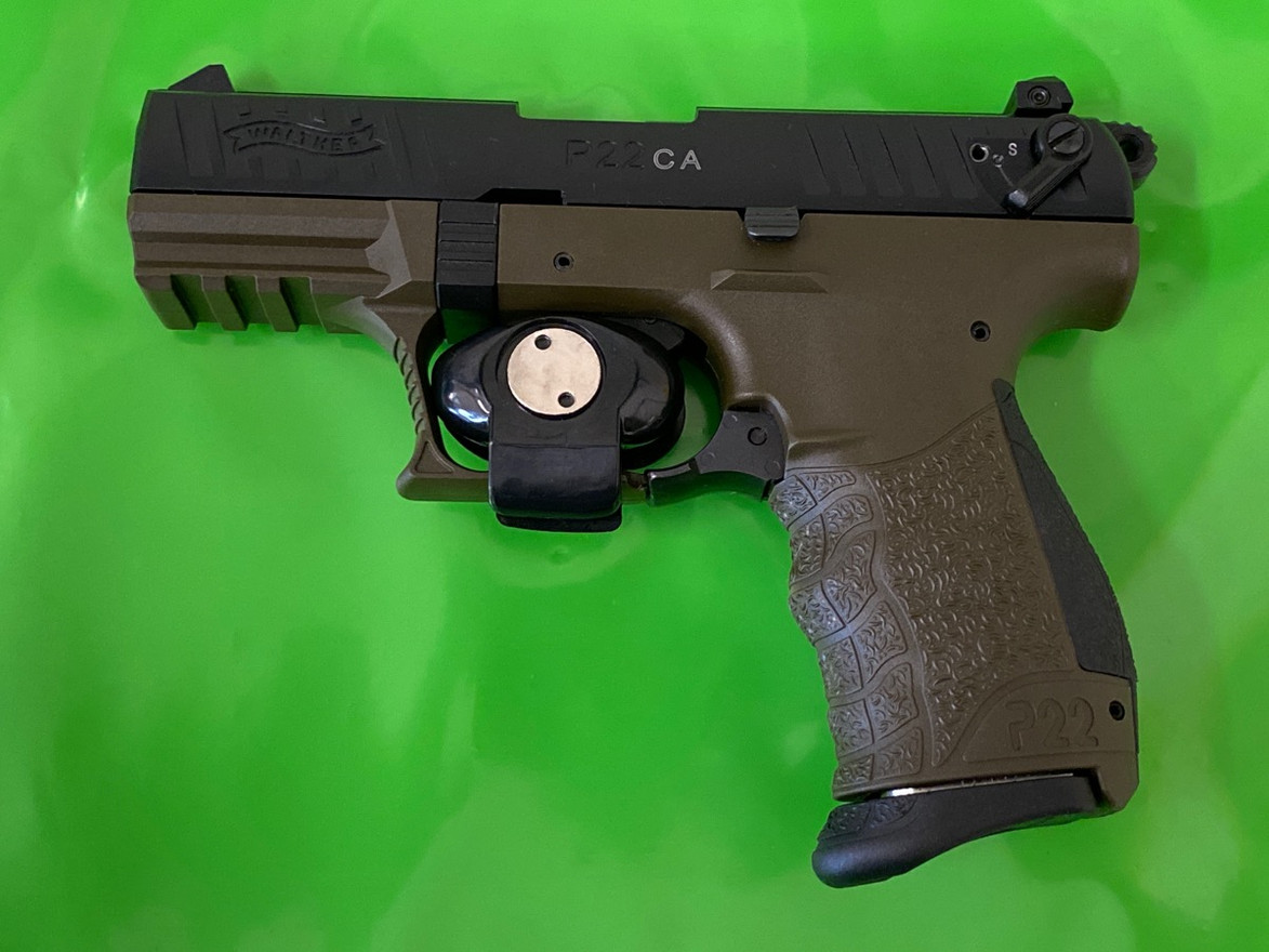 WALTHER P22 CA MILITARY