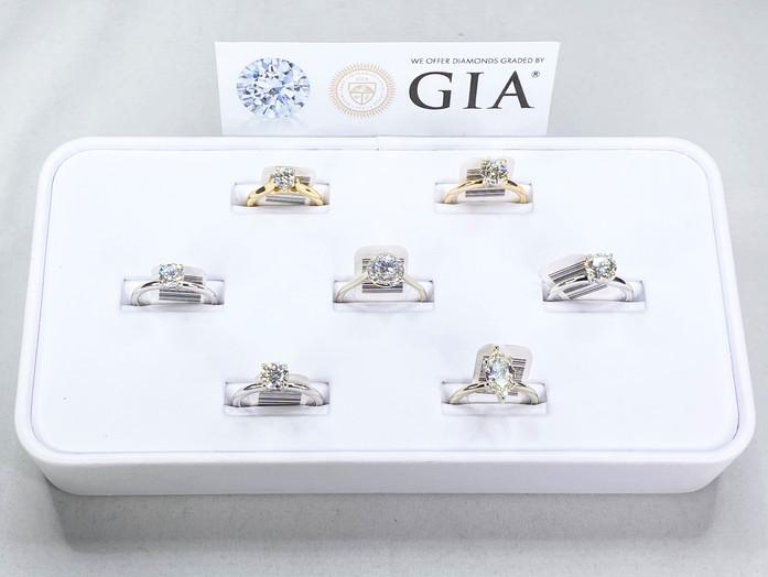Diamantes con certificación GIA