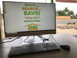 Use our computer to research your price. Find it for less and we'll match it or beat it!