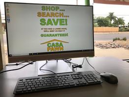 Utilice nuestra computadora para investigar su precio. ¡Encuéntrelo por menos y lo igualaremos o lo superaremos!