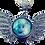 Thumbnail: Diamond Wing Photo Snap Necklace