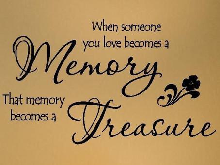 October 8, Treasures