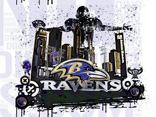 Ravens PNG File