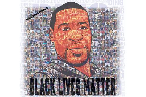 George Floyd BLM Mosaic
