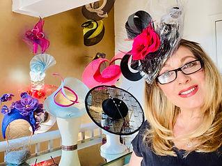 Brighton Hat Designer and Milliner Racha