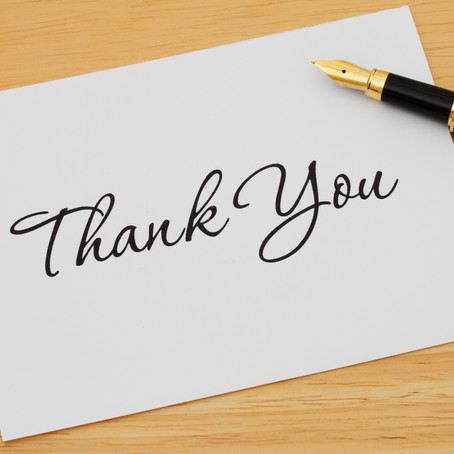 Thank You Cards: Here's Why You Should Be Writing Them